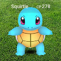 Pokemon Go Squirtle Julio 2016 peq mkn