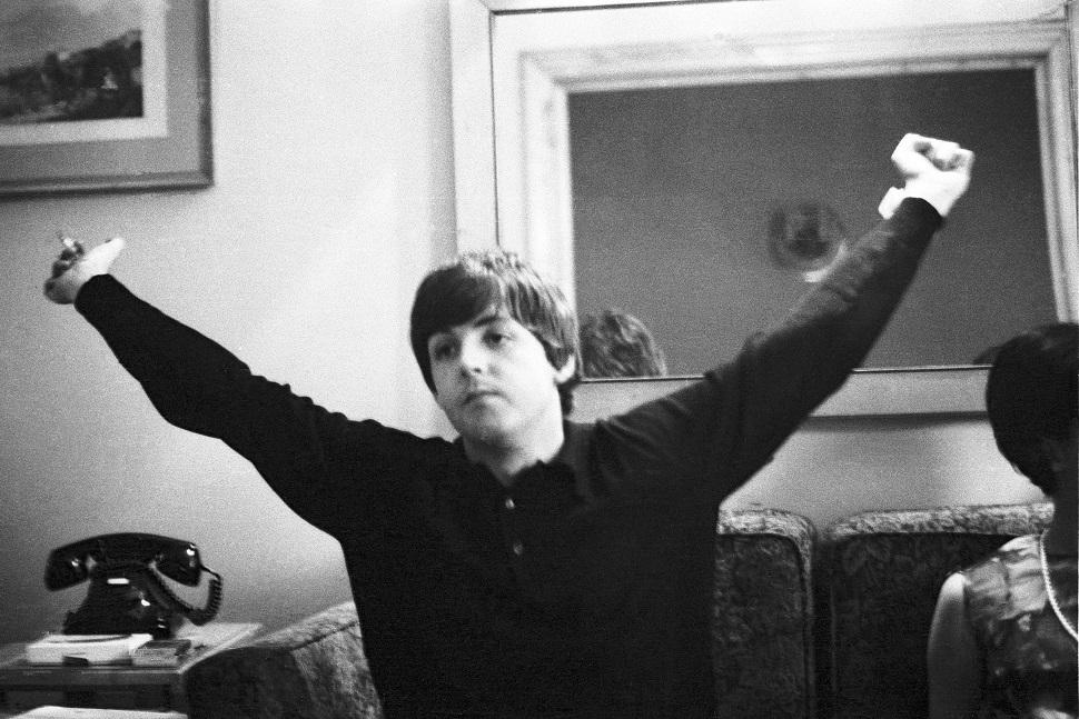 The Beatles, en Madrid, 1965/ ©Juana Biarnés