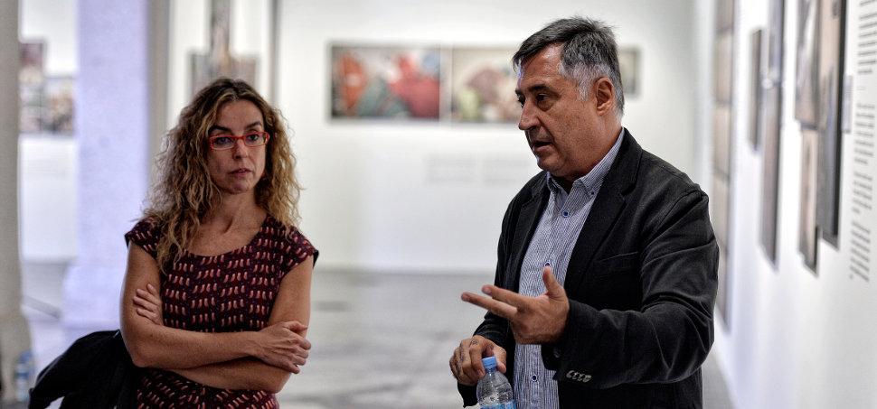 Mónica Bernabé y Gervasio Sánchez/Foto: Santiago Ojeda