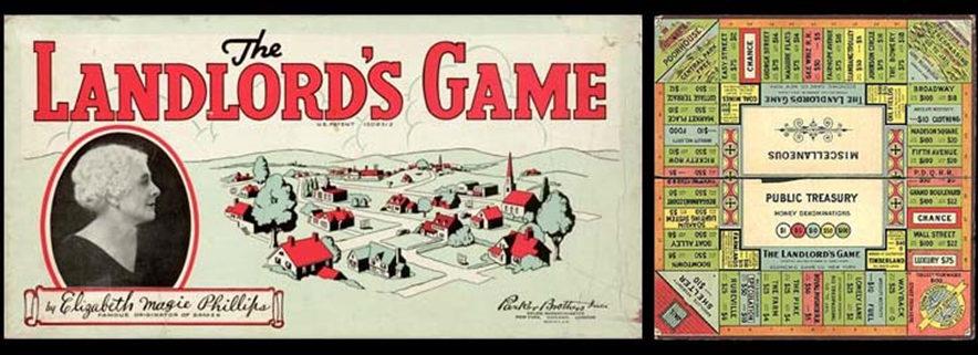 El Landlor's Game fue el precursor del Monopoly