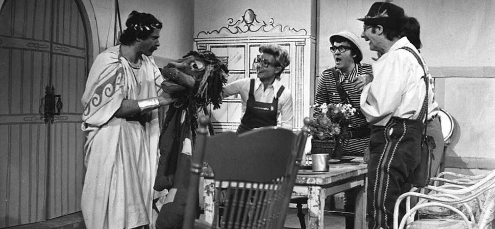 Hombres en los cincuenta: La programación infantil