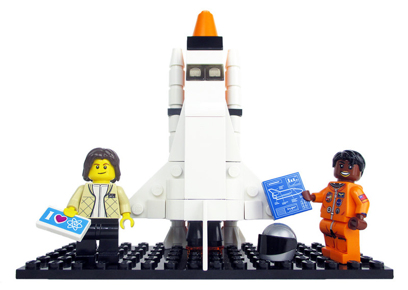 Sally Ride y Mae Jamison/Imagen: Women of NASA