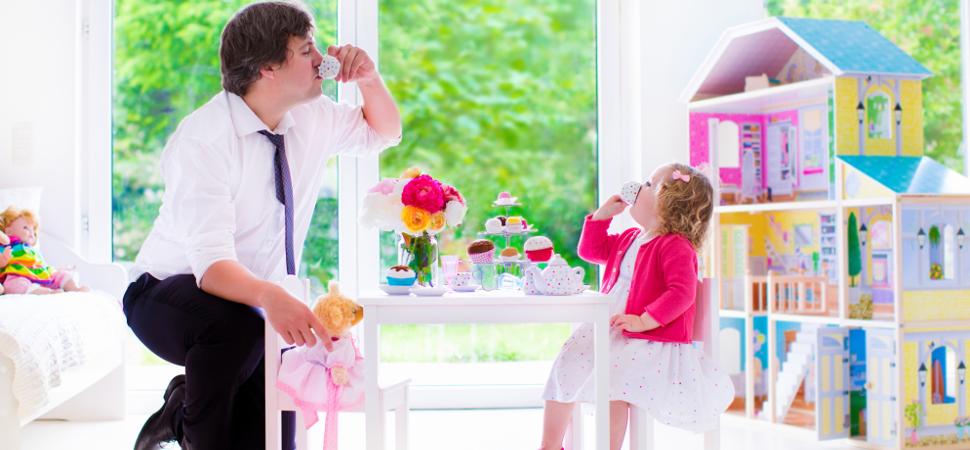 Ser padre es más divertido que ser madre