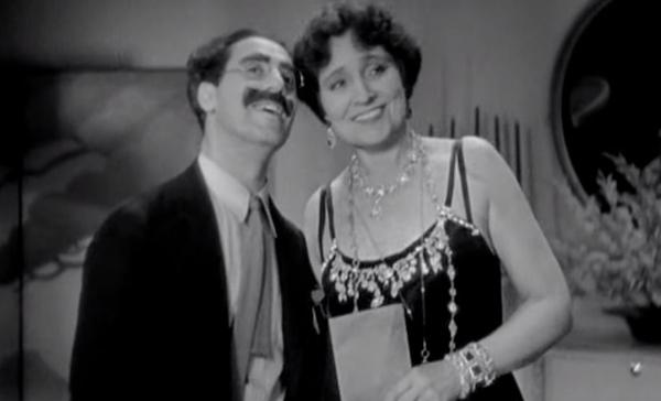 Fotograma de la película 'Sopa de Ganso' (1933)