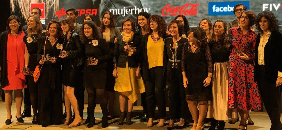 Ganadoras de los Premios MAS