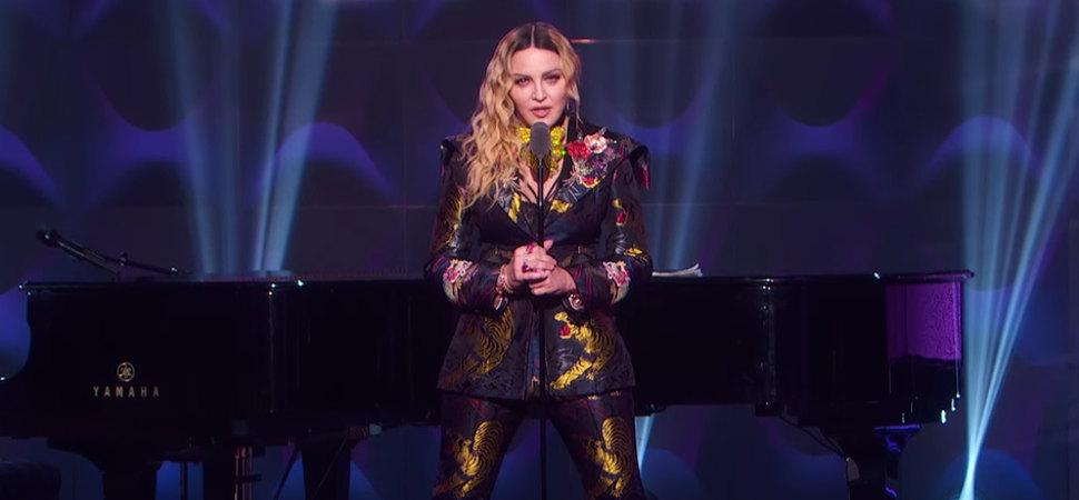 Las mejores frases del inspirador discurso de Madonna