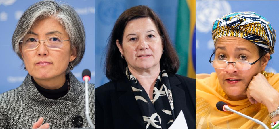 Estas son las mujeres que ocuparán los puestos clave de la ONU