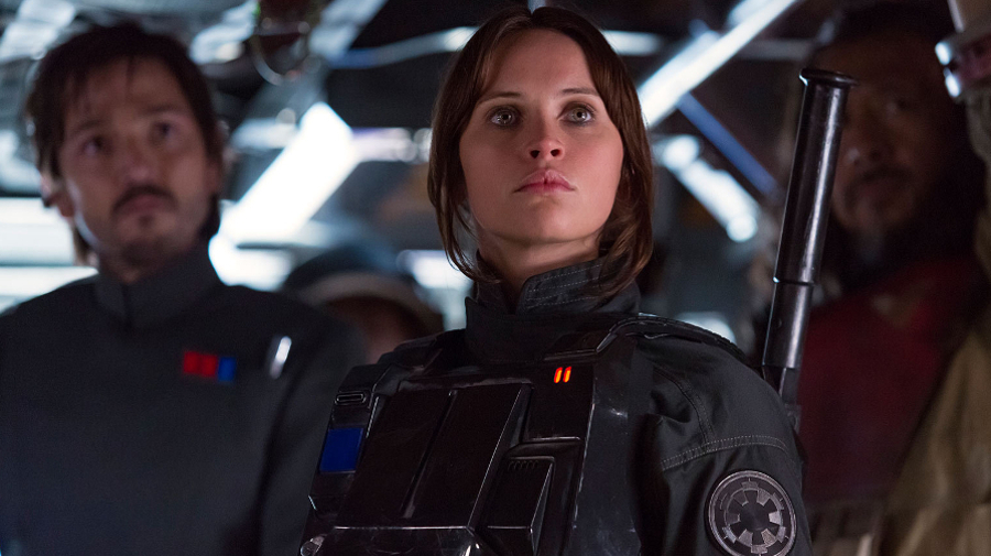 Felicity Jones es Jyn Erso en 'Rogue One'(2016)/Foto: starwars.com/Disney