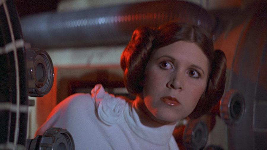 Carrie Fisher es la princesa Leia en 'La Guerra de las Galaxias'(1977)/Foto: starwars.com/Disney