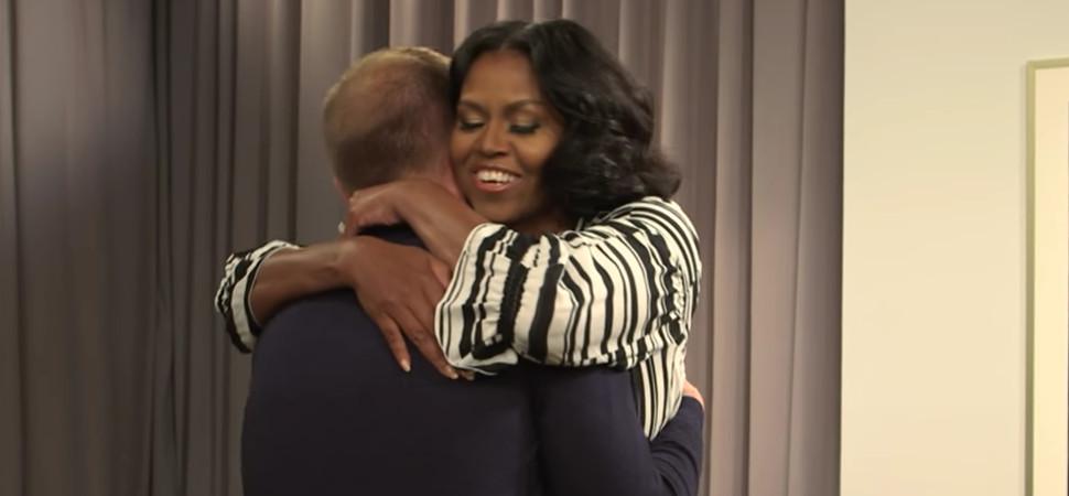 Esta sorpresa de Michelle Obama a sus fans te va a hacer reír y llorar