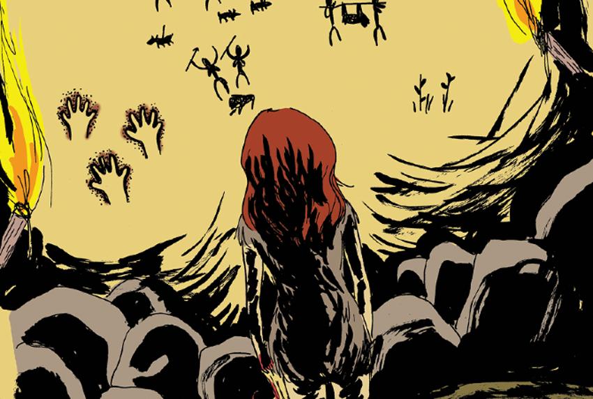 'La muchacha salvaje'. Imagen: Ediciones Sinsentido