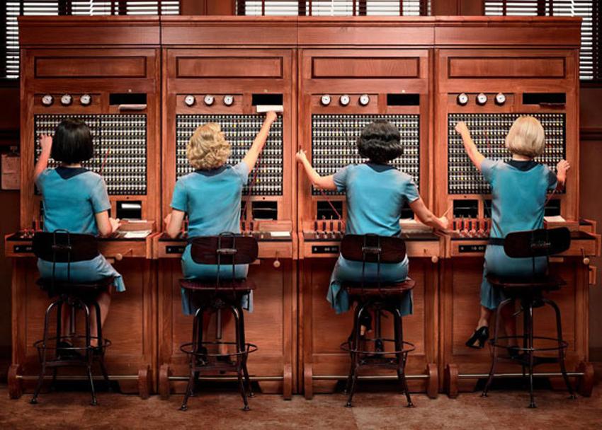 Esta es la primera imagen promocional de 'Las chicas del cable'. Foto: Netflix