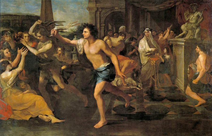 'Fiestas Lupercales', de Andrea Camassei. Museo del Prado