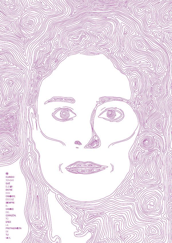 Edurne Pasabán, por María Gaya