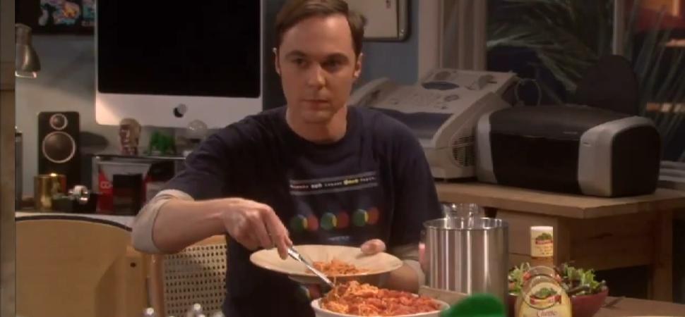 ¿Cuál es el plato favorito de Sheldon Cooper?