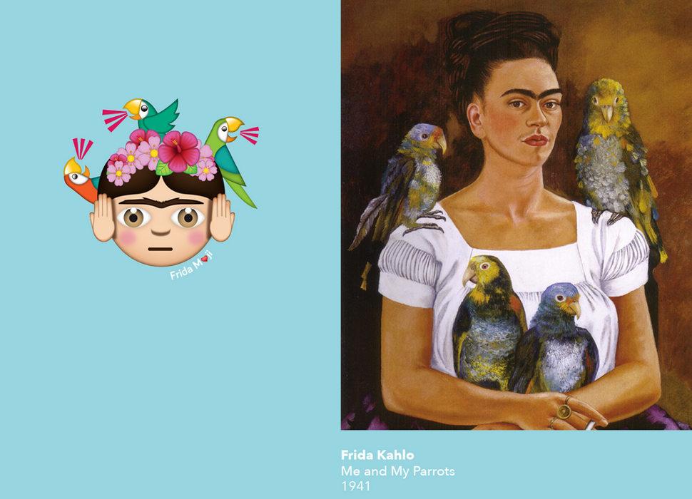 Imágenes: FridaMojis/Frida Khalo Corporation