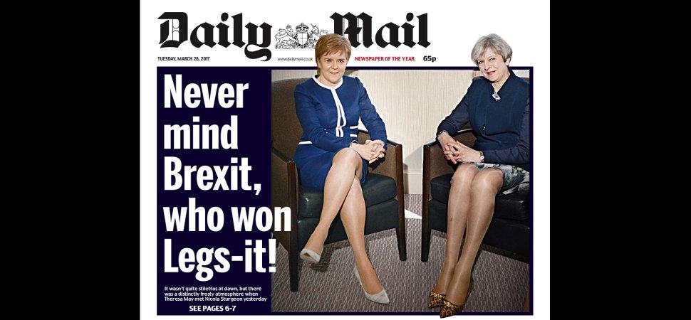 ¿A quién le importa el Brexit? Mejor hablemos de piernas