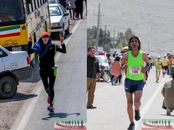Esta es la ropa adecuada para que hombres y mujeres corran. Foto: I run Iran