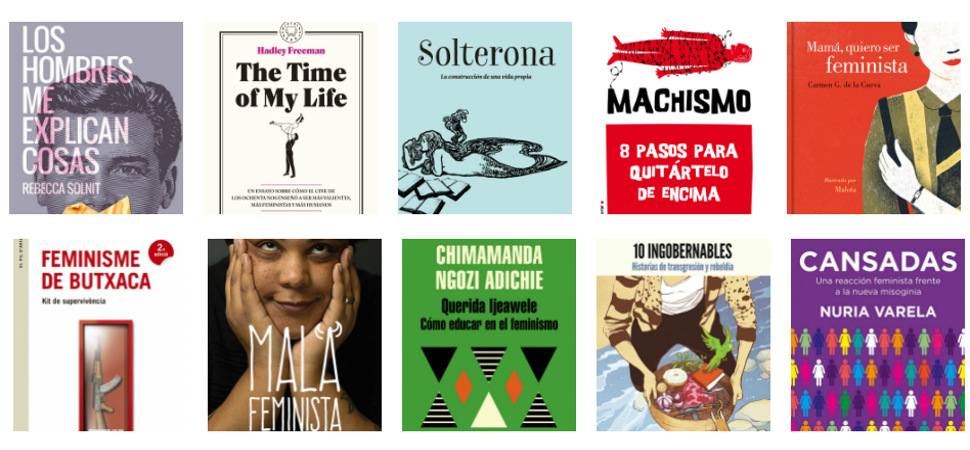 Diez libros para reír, cabrearte y aprender sobre feminismo
