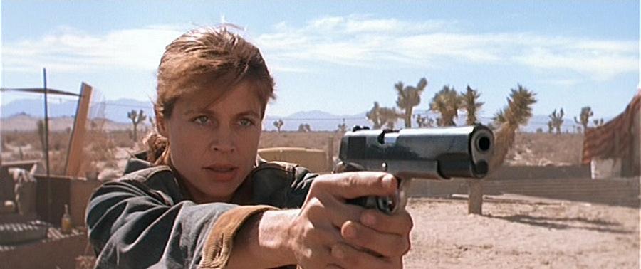 Sarah Connor interpretada por Linda Hamilton. Foto: IMDB/TriStar Pictures