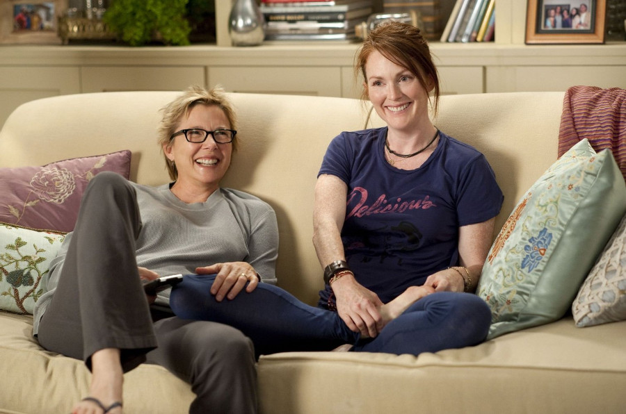 Annette Bening y Julian Moore interpretan a Nic y Jules. Foto: IMDB/ Suzanne Tenner - Focus Features