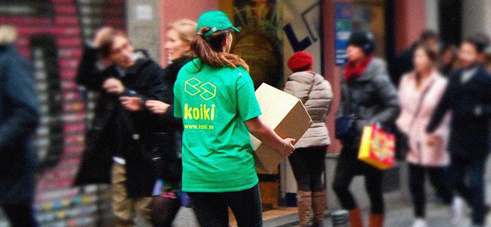 Koikis, repartidores con conciencia verde