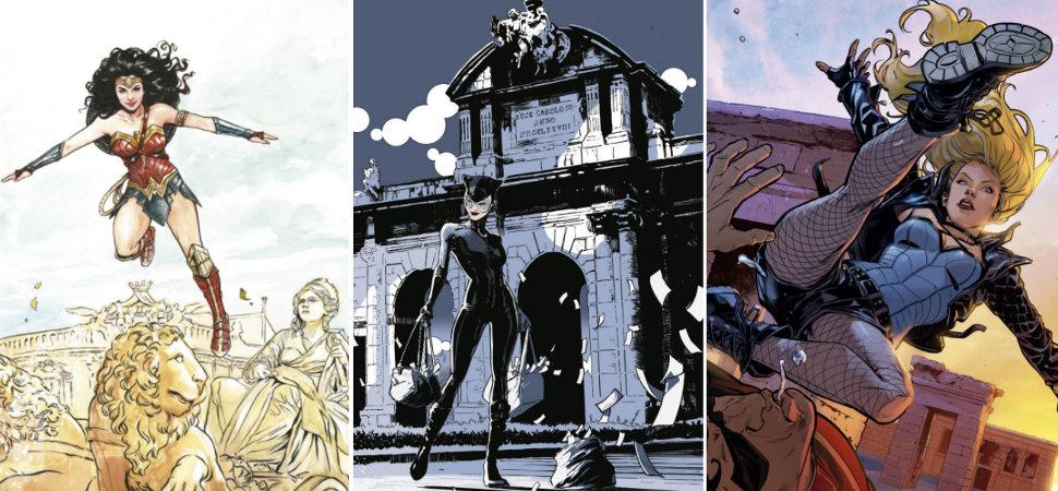 Heroínas y villanas de cómics toman las calles de Madrid