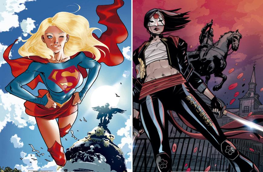 Supergirl y Katana