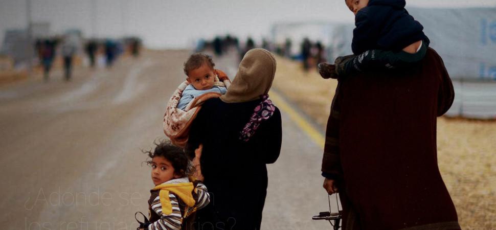 La crisis de los refugiados sirios, explicada por Google
