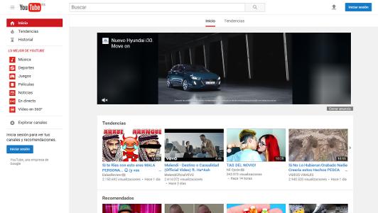 YouTube web Junio 2017 MKN