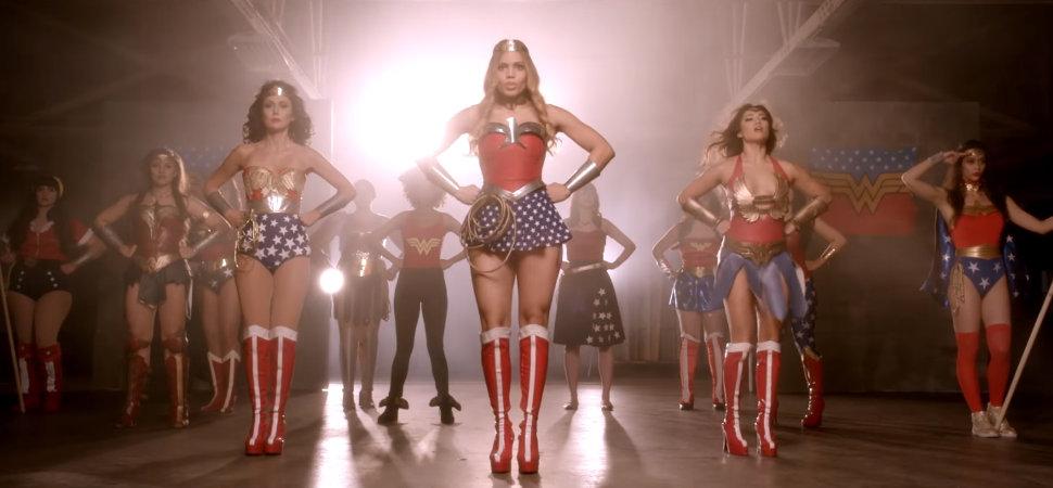 El 'mashup' de Wonder Woman que versiona a Beyoncé, Madonna o Nancy Sinatra