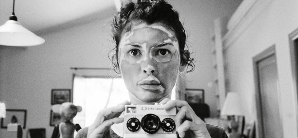 Los 'selfies' analógicos de Audrey Tautou