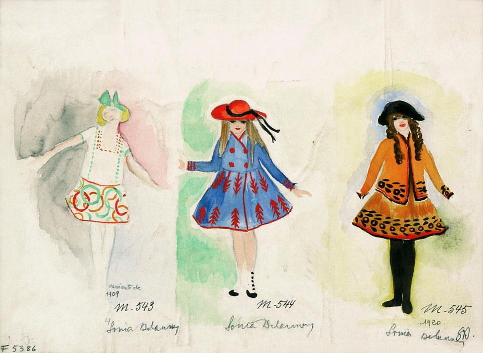 Tres vestidos para niños (1920)