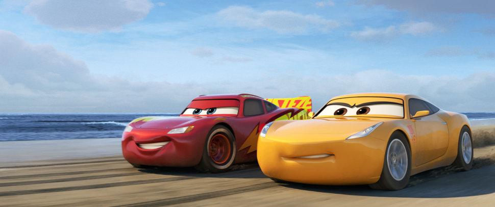 Rayo McQueen y Cruz Ramirez. Imagen: Disney Pixar