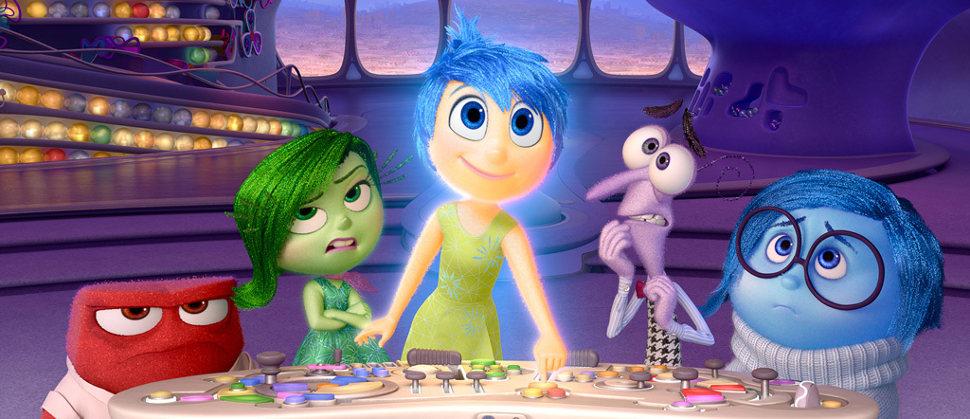 'Del Revés'. Imagen: Disney Pixar