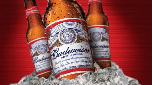 Botellas de Budweiser