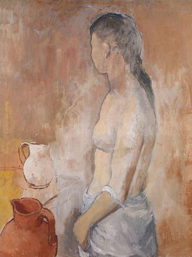 'Demi-nu à la cruche' de Picasso