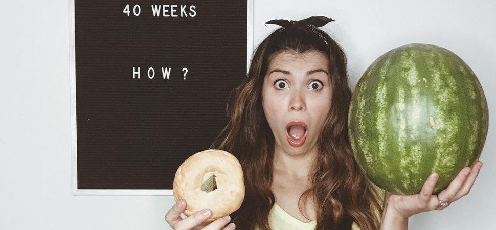 Esta divertida cuenta de Instagram muestra la verdad sobre el embarazo