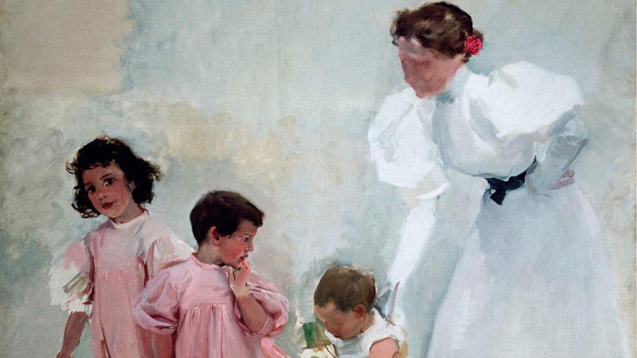 El Museo Sorolla propone una visita a través de los cuadros de su colección por la moda infantil de finales del siglo XIX. Imagen: ACME