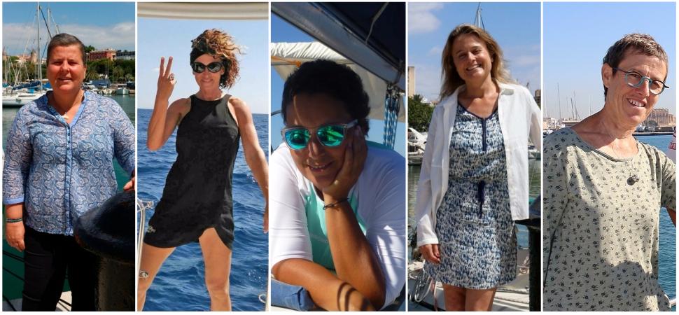 5 mujeres, 1 océano, 5 semanas