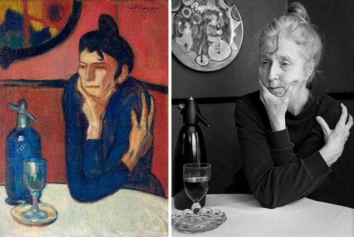 'La bebedora de absenta', de Pablo Picasso