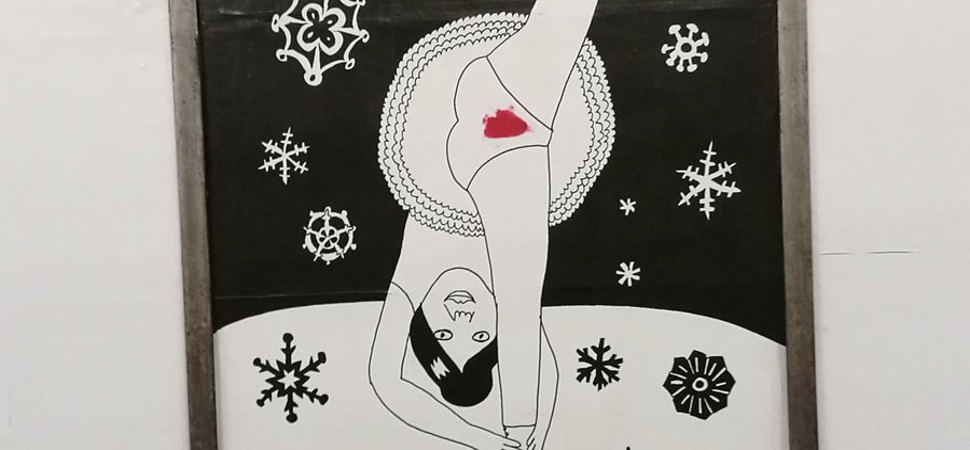 Polémica en Suecia por una exposición que muestra la menstruación