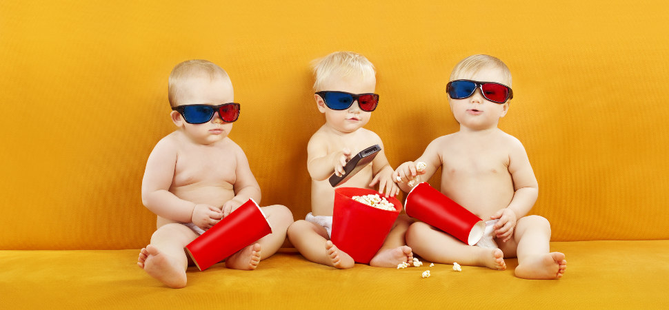 Sesiones teta: salas de cine en las que los bebés no molestan