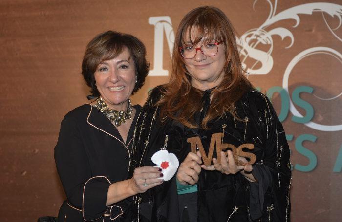 Isabel Coixet y Esther Valdivia