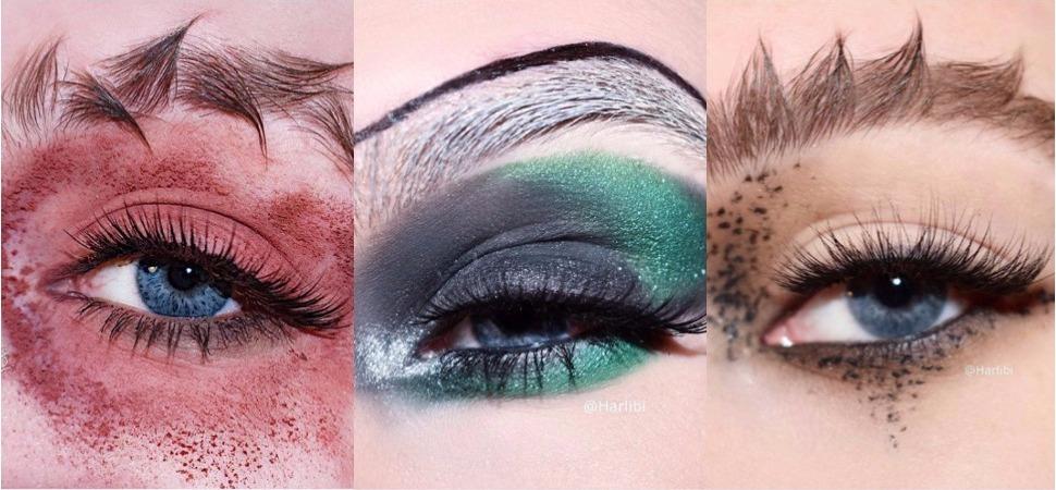 Dragón, pluma o 'glitter': las tendencias en cejas