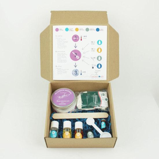 El Kit K26, para crear una crema facial personalizada