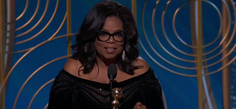 El reivindicativo y feminista discurso de Oprah Winfrey