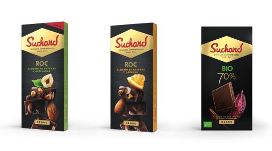 Tabletas de la marca Suchard