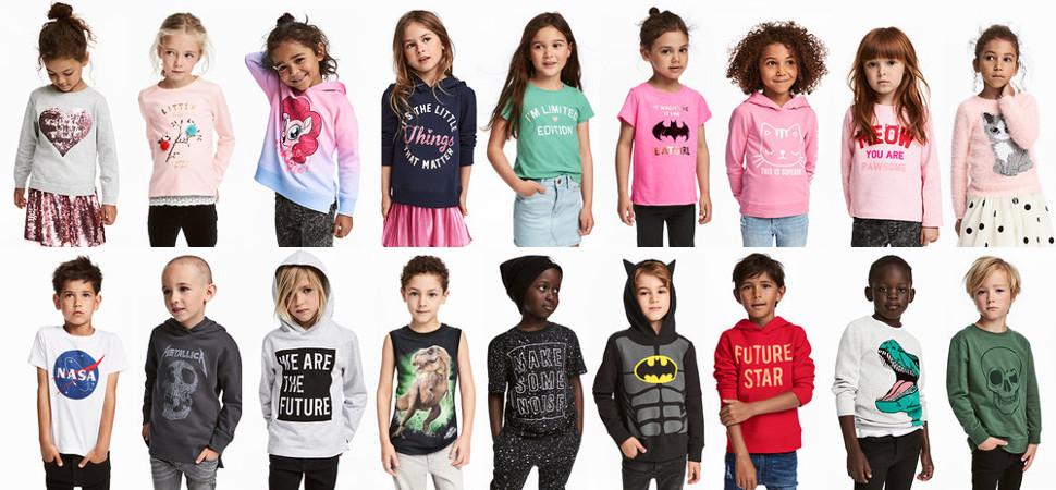 Dos madres retan a H&M a acabar  con la ropa 'de niños' y 'de niñas'