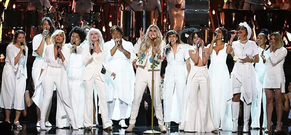 No nos engañemos: pese a la actuación de Kesha, los Grammy fueron cosa de hombres